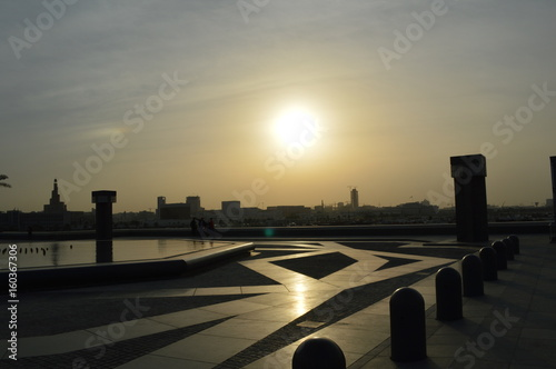 Foto op Canvas Dubai 夕日