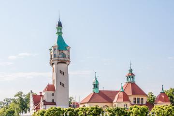 Leuchtturm in Sopot (Latarnia Morska w Sopocie) Gdynia (Gdingen) pomorskie (Pommern) Polska (Polen)