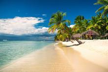 Tropical Beach On Saona Island...