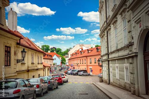 Staande foto Praag Prague street