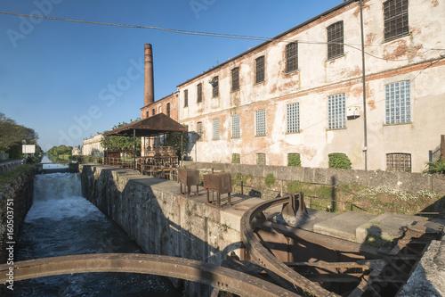 Photo  Naviglio Pavese from Pavia to Milan (Italy)