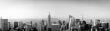 Fototapeta Nowy Jork - Panorama New York City from above with Empire State Building
