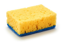 New And Clean Sponge For Clean...