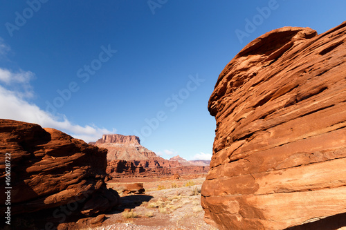 Deurstickers Oranje eclat Utah Red Rock