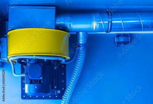 Photo Exhaust ventilation. Exhaust device.