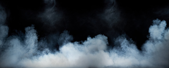 Image of a swirling dense fume