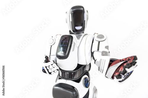 Aluminium Prints F1 Contemporary cyborg of nowadays technology