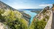 Lake of Sainte-Croix in France