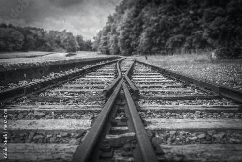 Gleisstück KZ Buchenwald