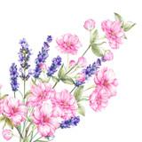 Bukiet kwiatów kwiatowych. - 160761107