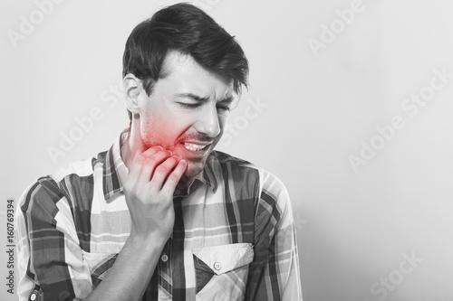 Stampa su Tela tooth pain