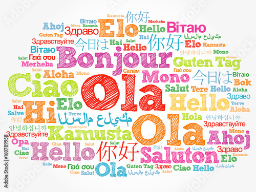 Ola hello greeting in portuguese word cloud in different languages ola hello greeting in portuguese word cloud in different languages of the world m4hsunfo