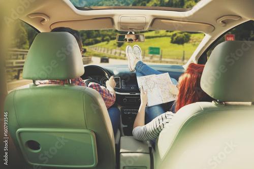 Zdjęcie XXL podróż samochodem i czas letni