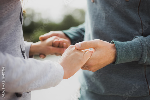 christian dating and holding hands