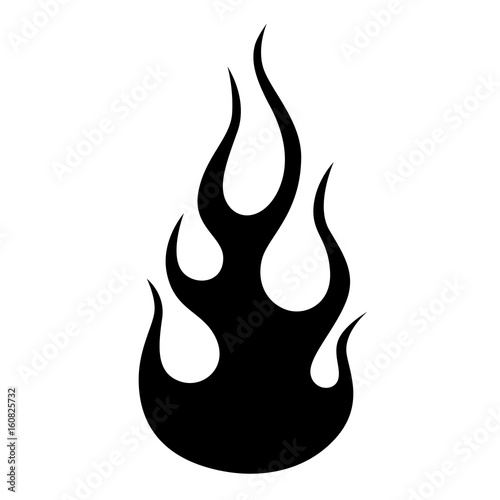 9c43aa5cc Flame car vector. Black tribal flame for a tattoo, logo or other design.  Vector sketch of a tattoo. Tribal tattoos. Art tribal tattoo.