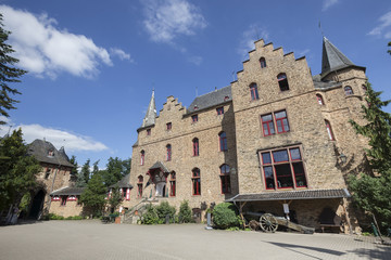 Fototapeta na wymiar castle satzvey germany