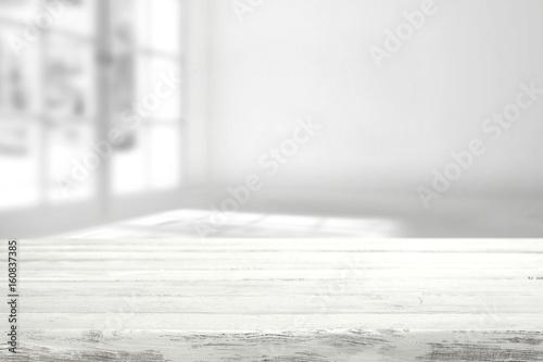 Valokuva  white desk space
