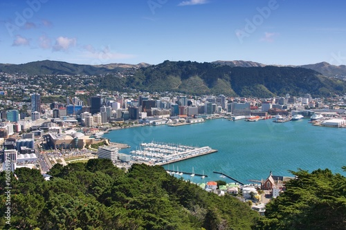 Foto auf AluDibond Neuseeland Wellington, New Zealand