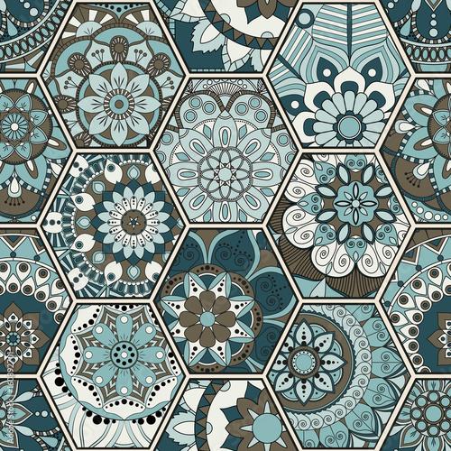 luksusowy-orientalny-dachowka-wzor-kolorowy-kwiatowy-patchwork-tlo-styl-szykowny-mandala-boho-bogaty-kwiatek-elementy