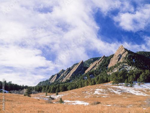 Fotografía  Spring along the Boulder Flatirons at Chautauqua