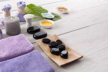 Obraz na płótnie Canvas Spa treatment.Aromatherapy.Essential Oil.