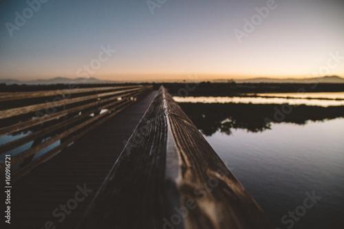Fototapety, obrazy: Bolsa Chica California Sunrise 16