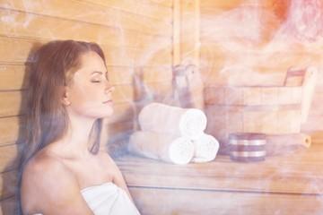 Obraz na płótnie Canvas Sauna.