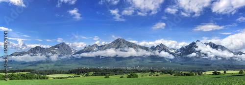 Fototapeta High Tatras mountains - panorama. obraz