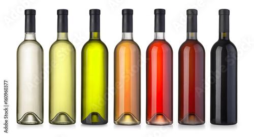 wine green bottle Fototapet