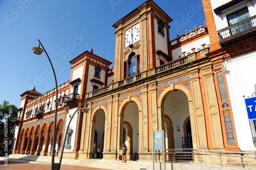 Train Station in Jerez de la Frontera, Spain