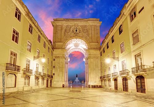 Lisbon -  Praca do Comercio, Portugal