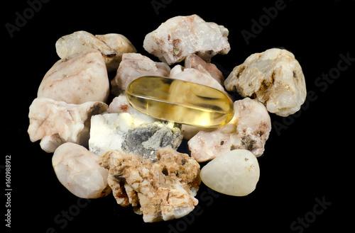 Fotografie, Obraz  Fish oil