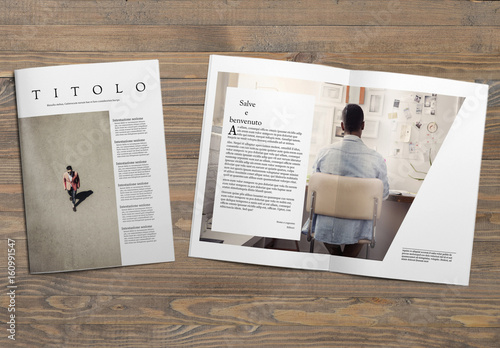 layout minimalista per rivista buy this stock template On design riviste