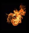 Fire flame heat burning