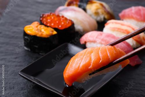 In de dag Sushi bar 寿司、サーモン