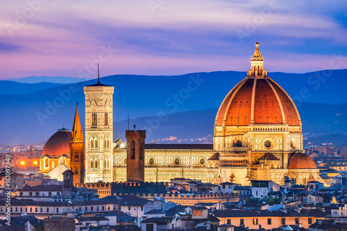 Spoed Foto op Canvas Florence Florence, Tuscany, Italy - Duomo Santa Maria del Fiori