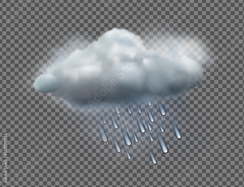 Weather icon Fototapet
