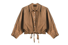 Brown Blouse Isolated