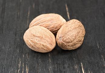 Three of nutmeg
