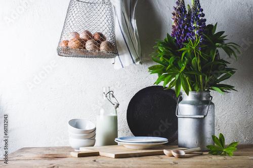 Foto  Concept of rural kitchen