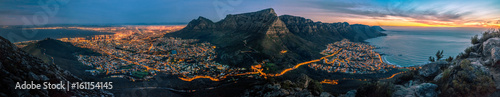 Acrylic Prints Africa cape town at dusk