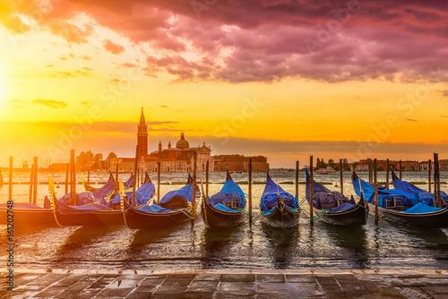 Foto op Plexiglas Venetie Sunrise in San Marco square, Venice. Italy