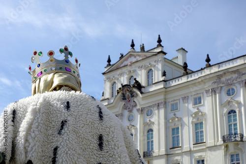 Fotografie, Obraz  Erzbischöfliche Palais in Prag