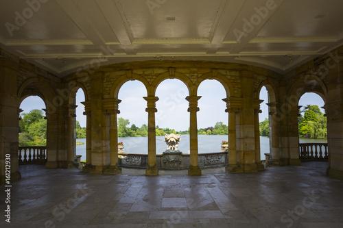 Fotografie, Obraz  Hever Lake from the Loggia