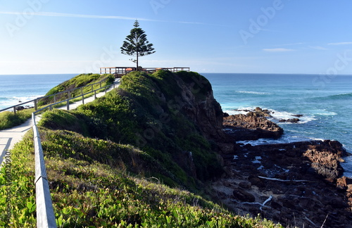 Photo sur Toile Cote One Tree Point at Tuross Head. Tuross Head is a seaside village on the south coast of New South Wales Australia.