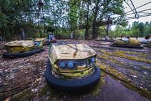 Fun Fair In Abandoned Pripyat City Of Chernobyl Exclusion Zone, Ukraine