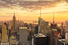 United States, New York City, Manhattan, Midtown, Empire State Building