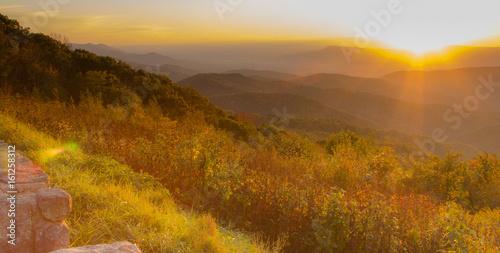 Fototapety, obrazy: Golden Sunset