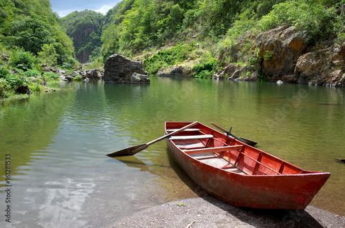 Fotografia Somoto Canyon in the north of Nicaragua, a popular tourist destination for outdo