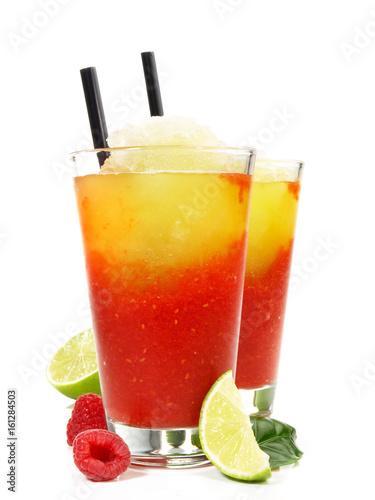 Foto-Rollo - Zweifarbige Margarita Cocktails (von ExQuisine)